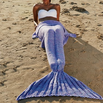 Fashionable Comfortable Warmth Wool Knitting Mermaid Shape BlanketBedding<br>Fashionable Comfortable Warmth Wool Knitting Mermaid Shape Blanket<br><br>Material: Other<br>Package Contents: 1 x Blanket<br>Pattern Type: Solid<br>Size(L*W)(CM): 180*90CM<br>Type: Knitted<br>Weight: 0.945kg