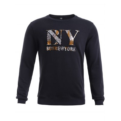 BoyNewYork Camo Printed Long Sleeves Sweatshirt