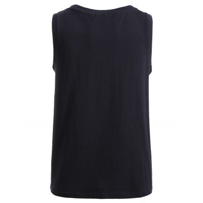 BoyNewYork Solid Color Cotton Tank TopBoyNewYork<br>BoyNewYork Solid Color Cotton Tank Top<br><br>Material: Cotton<br>Clothing Length: Regular<br>Pattern Type: Solid<br>Style: Casual<br>Weight: 0.214kg<br>Package Contents: 1 x Tank Top