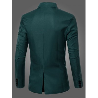 Casual Lapel Collar Double Breasted Flap-Pocket Design Blazer For MenMens Blazers<br>Casual Lapel Collar Double Breasted Flap-Pocket Design Blazer For Men<br><br>Material: Cotton Blends<br>Clothing Length: Regular<br>Sleeve Length: Long Sleeves<br>Closure Type: Double Breasted<br>Weight: 0.374kg<br>Package Contents: 1 x Blazer