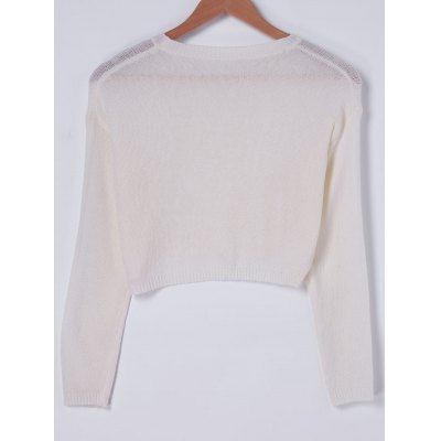Fashionable RoundNeck Cut Out Knit Crop Top For WomenCrop Tops<br>Fashionable RoundNeck Cut Out Knit Crop Top For Women<br><br>Material: Spandex<br>Clothing Length: Short<br>Pattern Type: Others<br>Style: Casual<br>Weight: 0.370kg<br>Package Contents: 1 x Crop Top