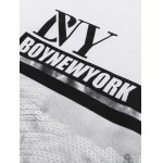 BoyNewYork Sequins Design Short Sleeves T-Shirt deal