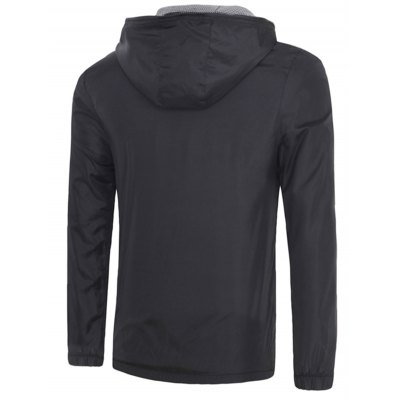 Solid Color Hooded Long Sleeves Sunproof Jacket For Men
