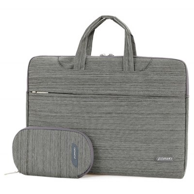 Zippers Design Laptop Bag For Men