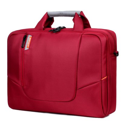 Leisure Zippers and Solid Color Design Laptop Bag For Men