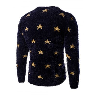 V-Neck Long Sleeve Stars Mohair Sweater For MenMens Sweaters &amp; Cardigans<br>V-Neck Long Sleeve Stars Mohair Sweater For Men<br><br>Type: Pullovers<br>Material: Nylon,Polyester<br>Sleeve Length: Full<br>Collar: V-Neck<br>Style: Casual<br>Weight: 0.500kg<br>Package Contents: 1 x Sweater