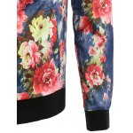 Casual Floral Bomber Jacket deal