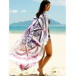 Women's Printed Sun Resistant Cover Up deal