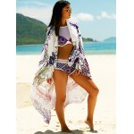 cheap Women's Printed Sun Resistant Cover Up
