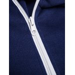 Izzumi Diagonal Zipper Design Long Sleeve Hoodies for sale