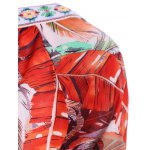 best Bohemian Off The Shoulder Feather Print Half Sleeve Dress For Women