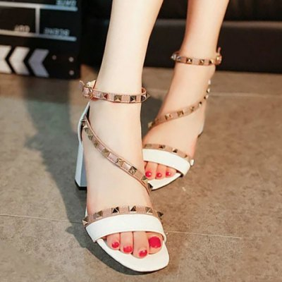 Color Splicing Design Sandals For Women