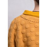 best Stereo Dot Flat Collar Sweatshirt