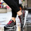 Fashion Color Splicing and Breathable Design Athletic Shoes For Men deal