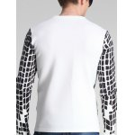 Round Neck Long Sleeve Print T-Shirt For Men deal