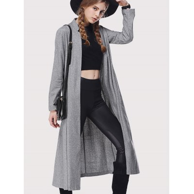 Stand Collar Loose-Fitting Trench Coat