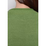 Single Breasted Green Long Sleeve Cardigan for sale
