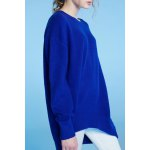 Soft Touch Pure Color Oversized Sweater for sale