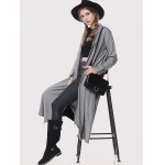 cheap Stand Collar Loose-Fitting Trench Coat