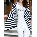 best Long Sleeve Striped Thin Cardigan