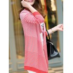 Long Sleeve Striped Cardigan deal