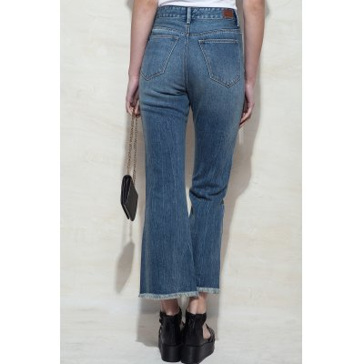 High Waisted Boot Cut Jeans