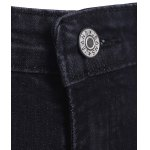 best Brief Women's Slimming Unedged Black Denim Pants