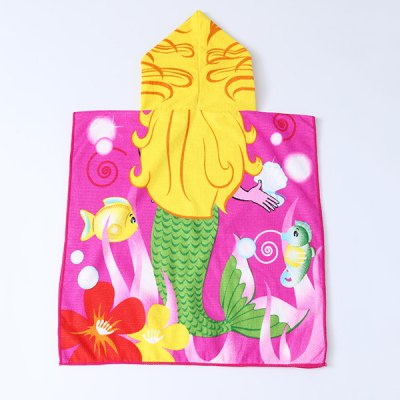 Cute Cartoon Mermaid and Sea World Pattern Hooded Beach Towel For KidsBaby Care<br>Cute Cartoon Mermaid and Sea World Pattern Hooded Beach Towel For Kids<br><br>Scraf Type: Shawl/Wrap<br>Scarf Length: 100-135CM<br>Group: Children<br>Gender: Unisex<br>Style: Fashion<br>Material: Polyester<br>Weight: 0.228kg<br>Package Contents: 1 x Hooded Beach Towel