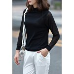 cheap Solid Color Fitting Knitwear