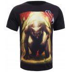 3D Red Riding Hood Print Round Neck Short Sleeve T-Shirt For Men