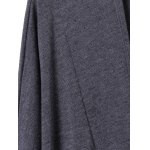 Shawl Collar Pockets Solid Color Long Sleeves Cardigan deal