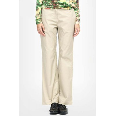 Zipper Fly Twin Pocket Pants