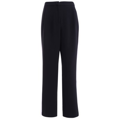 Side Striped Straight Pants