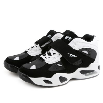 Trendy Splicing and Color Block Design Athletic Shoes For Men