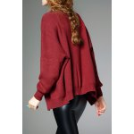 cheap Batwing Open Front Cardigan