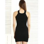 Alluring Hollow Out Convertible Knitted Dress For Women deal