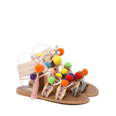 Geometric Pattern Design Sandals For Women