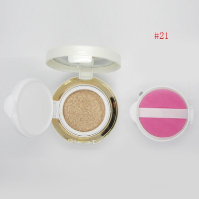 Stylish Flawless Nude Makeup Air Cushion CC Cream with Mirror and Puff