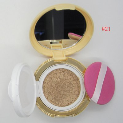 Flawless Nude Makeup Air Cushion BB Cream with Mirror and Puff