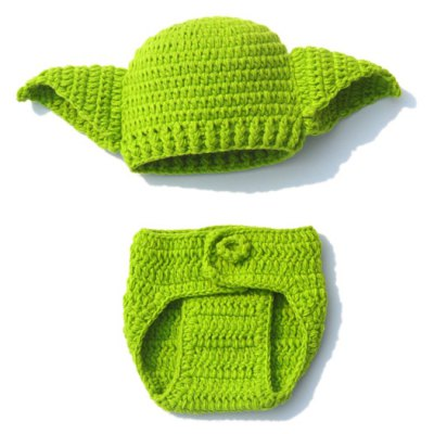 Handwork Crochet Photography Clothes Set For Baby