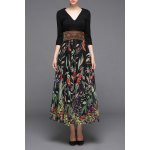 Ethnic Style High Waisted Dress for sale