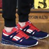 cheap Trendy Splice and Color Block Design Athletic Shoes For Men