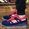 Trendy Splice and Color Block Design Athletic Shoes For Men deal
