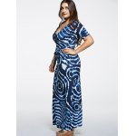 Oversized Tied-Dyed Maxi Dress deal