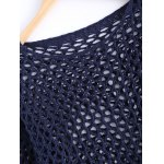 Simple Women's Hollow Out Loose Knitted Top deal