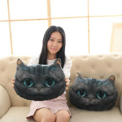 Mysterious Cartoon Meow Star Cute Cat Cushion Simulation Decorative Pillow