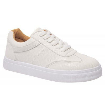 Solid Color Design Athletic Shoes For Women