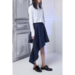 best Asymmetric Buttoned Skirt