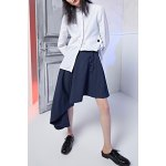 Asymmetric Buttoned Skirt deal
