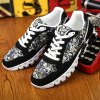 Trendy Splice and Printed Design Athletic Shoes For Men deal